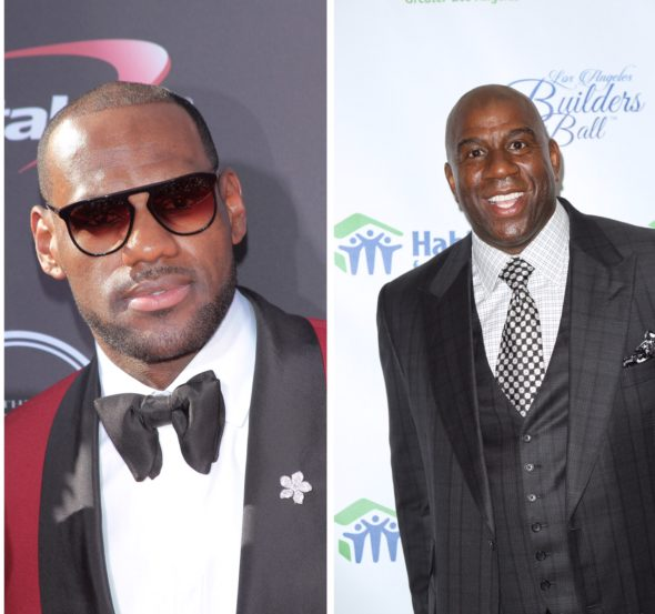 LeBron James Was Blindsided When Magic Johnson Quit Lakers, Says It Was 'Weird' That He Didn't Give Him A Heads Up