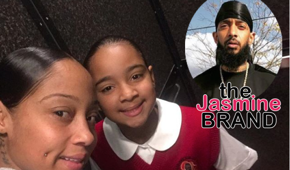 Nipsey Hussle's Daughter's Mother Says She Hasn't Seen Their Child In Months, Was Emotional At Court Hearing