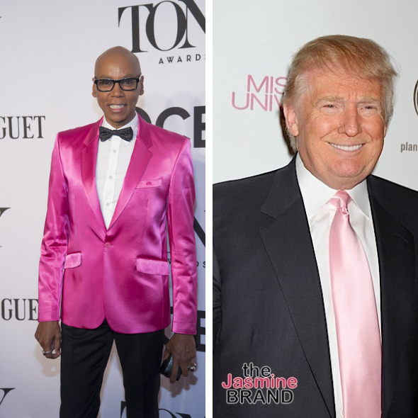 RuPaul Makes It Clear Donald Trump Isn't Allowed On His New Talk Show