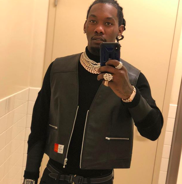 Offset Detained By Police At Mall, Later Posts Cryptic Message: The Devil Is A Lie! [VIDEO]