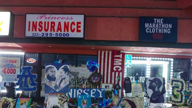 Nipsey Hussle Memorial Shut Down After Bootleggers Caught Trying To Make Money