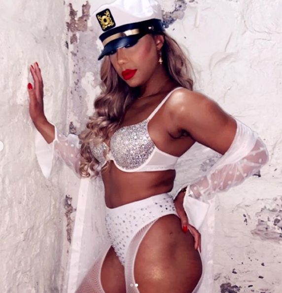 Tamar Braxton Is Saved & Sexy In Revealing Lingerie: I'm An Actress Playing A Role! [Photos]