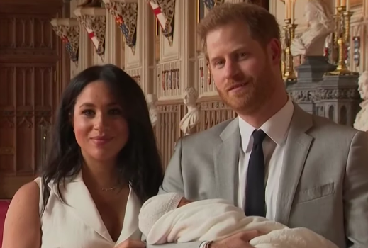 Meghan Markle & Prince Harry Debut Baby Boy [VIDEO]