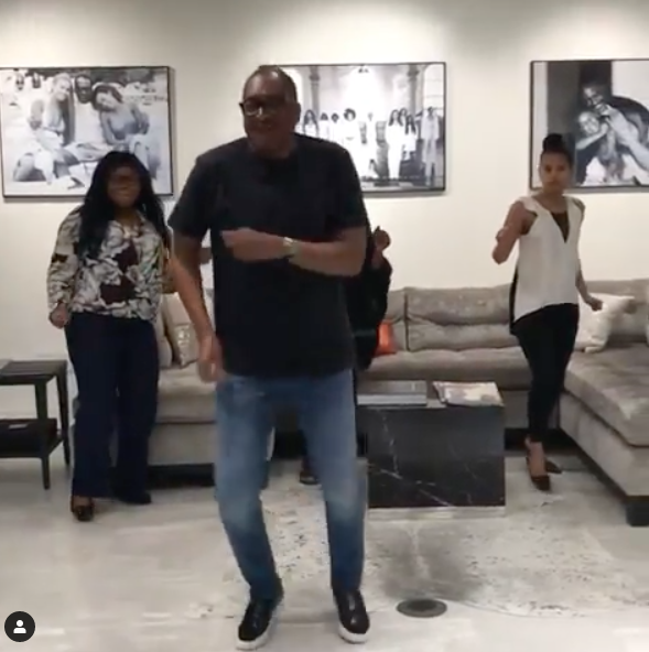 Beyonce's Dad Mathew Knowles Does Her 'Before I Let Go' Challenge [VIDEO]