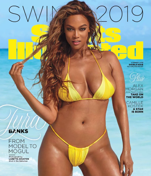 Tyra Banks Comes Out Of Modeling Retirement For 'Sports Illustrated' Shoot!