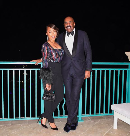 Steve Harvey's Wife Marjorie Laughs Off Infidelity Rumors: He Only Cheated On His Diet