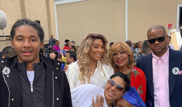 Tamar Braxton & Vincent Herbert Celebrate Son's Kindergarden Graduation! [Photos]