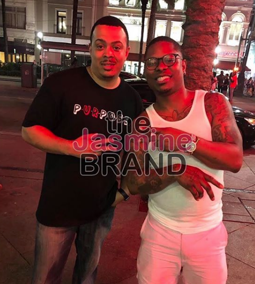 Jason Mitchell Makes 1st Public Appearance Since Firing From 'The Chi' & Netflix Movie