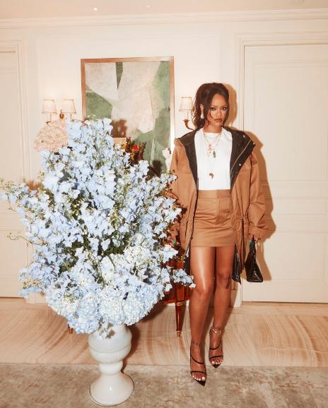 Rihanna Releases Luxury Fenty Clothing Line [Photos]