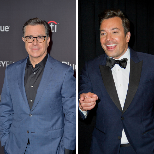 "Jimmy Fallon's ""Tonight Show"" Ratings Drop, Stephen Colbert Leads Late Night Ratings"