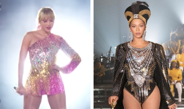 Taylor Swift Accused Of Copying Beyonce's Coachella Intro, Fans Call Her Performance #MayoChella