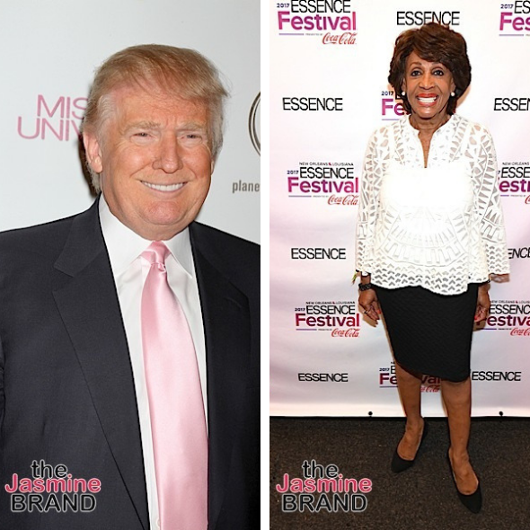 Maxine Waters Calls President Trump A 'Low Life, Lying, Crooked, Tax Evader, Porn Star Fornicator'