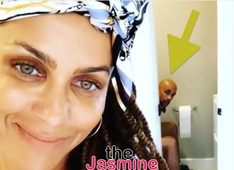 Nicole Ari Parker Hilariously Exposes Boris Kodjoe On The Toilet For Their Anniversary [VIDEO]