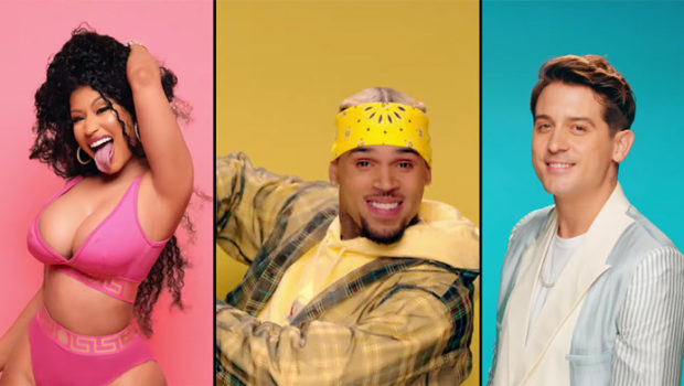 "Chris Brown Releases ""Wobble Up"" Video Ft. Nicki Minaj & G-Easy"