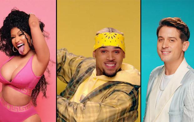 "Chris Brown Releases ""Wobble Up"" Video Ft. Nicki Minaj & G-Easy"