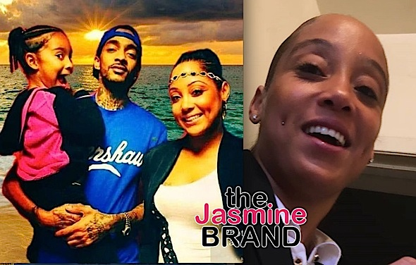 Nipsey Hussle's Daughter's Mother Says She Loves Her Kids, Amidst Rapper's Siblings Fighting For Guardianship [Photo]