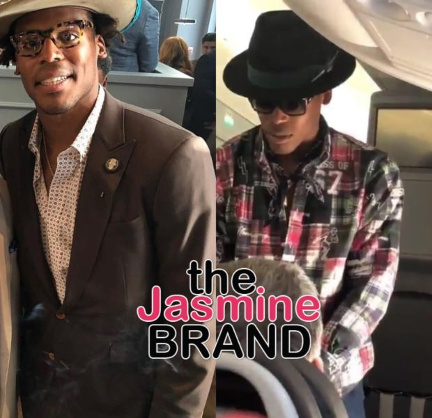 NFL Star Cam Newton Offers Airline Passenger $1,500 For Extra Leg Room On Flight [VIDEO]