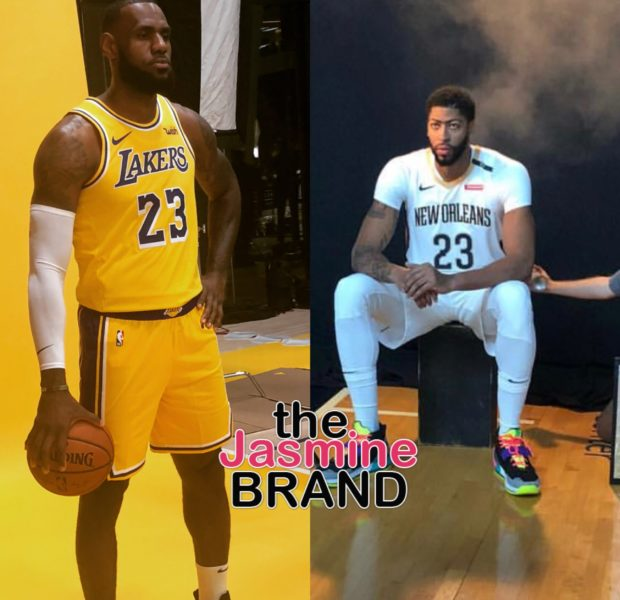 LeBron James To Give New Acquired Teammate Anthony Davis No. 23