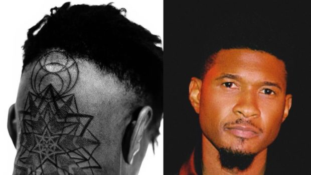 Usher Gets A New New Head & Back Tattoo [Photos]