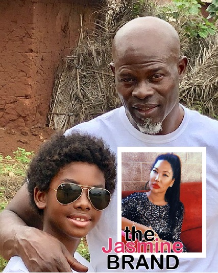 Kimora Lee Simmons' Ex Djimon Hounsou Asks For Joint Custody Of Son & Wants Her To Pay Child Support, Threatened To Move Their Child To Africa