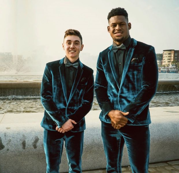 Pittsburgh Steelers' JuJu Smith-Schuster Showed Up As Male Teen's Date To Prom After Being Stood Up [Photos]