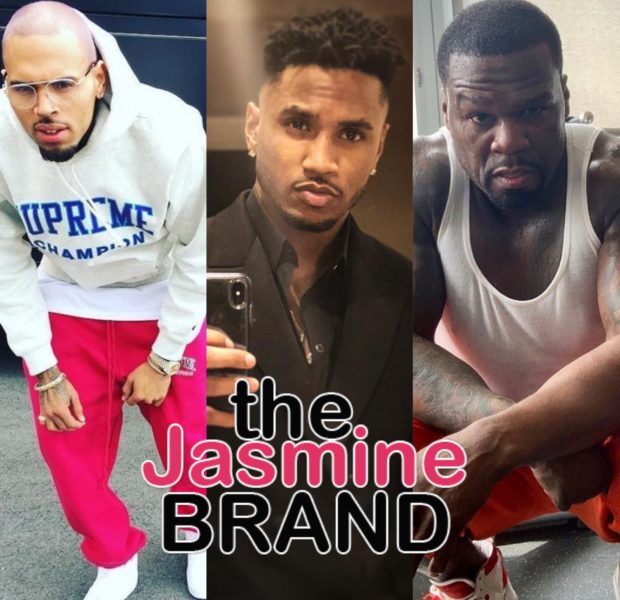 Chris Brown, Trey Songz & 50 Cent Throw Epic Mansion Party, Upsetting Neighbors