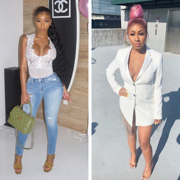 Yung Miami Calls Bernice Burgos' Daughter A Prostitute After They Argue Over McDonald's & Water Comment