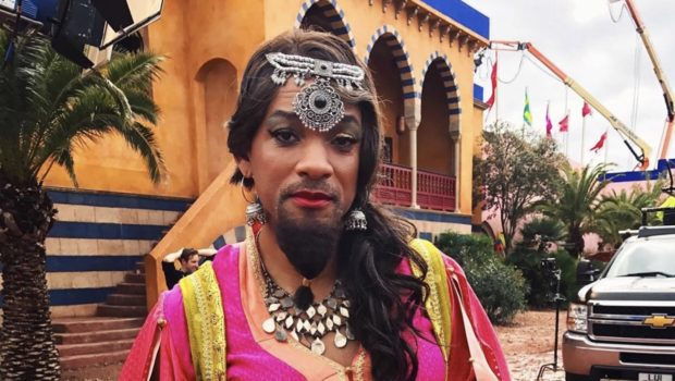 Will Smith Reveals Hilarious Photo Of His Genie Transformation [Photo]
