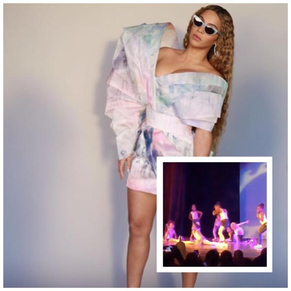 "Blue Ivy Drops Into The Splits During Beyonce's ""Before I Let Go"" Challenge In Recital [VIDEO]"