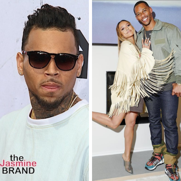 Chris Brown Suggests He Was Hacked After He Appeared To Trash Karrueche Tran's Boyfriend Victor Cruz