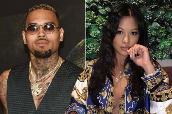 Chris Brown Debuts Photo From Ammika Harris' Sexy Pregnancy Photoshoot