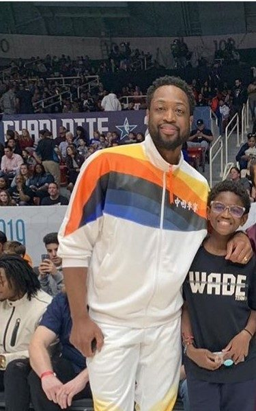 Dwyane Wade On Supporting Son Attending Gay Pride Parade: It's Zion's Story To Tell