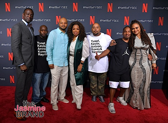 Oprah Winfrey Interviews Ava DuVernay, Exonerated 5 & 'When They See Us' Cast [Photos]