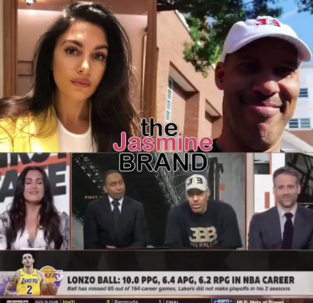LaVar Ball Accused of Awkwardly Flirting With ESPN's Molly Qerim During Interview [VIDEO]