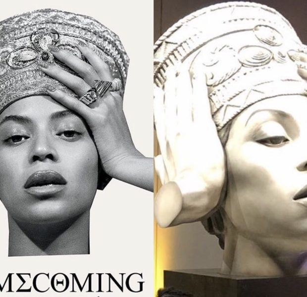 Massive Beyonce Statue Unveiled In Germany [Photos]
