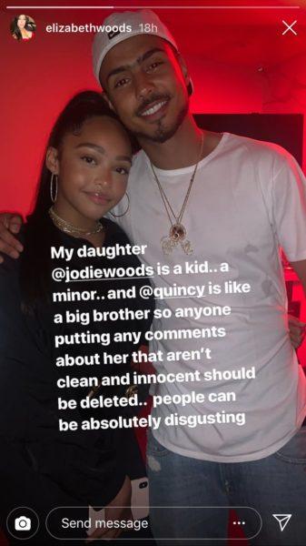 Jordyn Woods' Mother Defends Youngest Daughter: