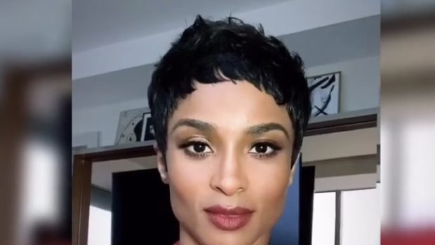Ciara Stuns In New Pixie Cut
