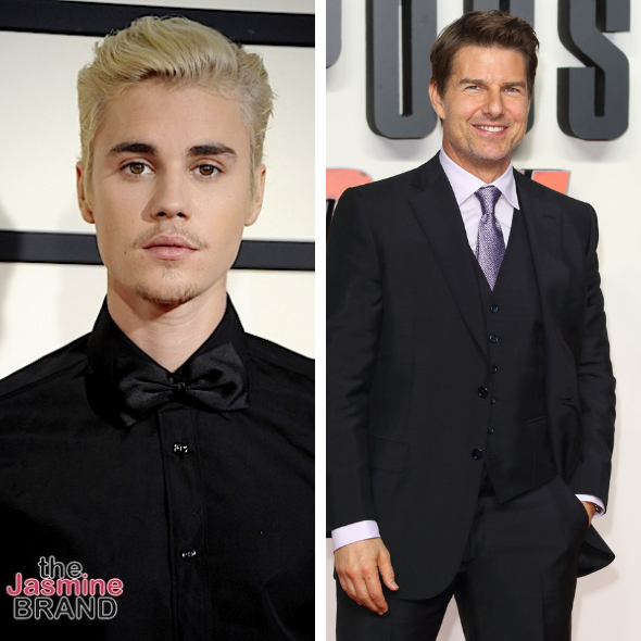 Justin Bieber Challenges Tom Cruise To A UFC Fight 'If You Don't Take This You're Scared'