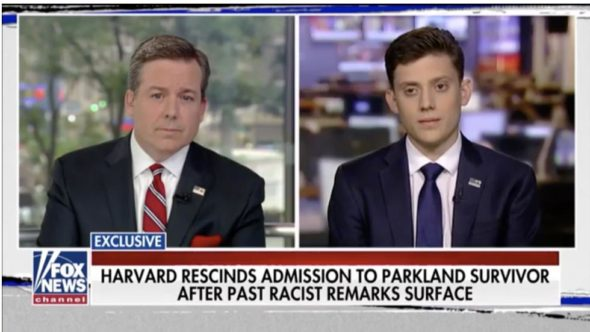 Harvard Rescinds Offer To Parkland Shooting Survivor After Uncovering Past Racist Comments