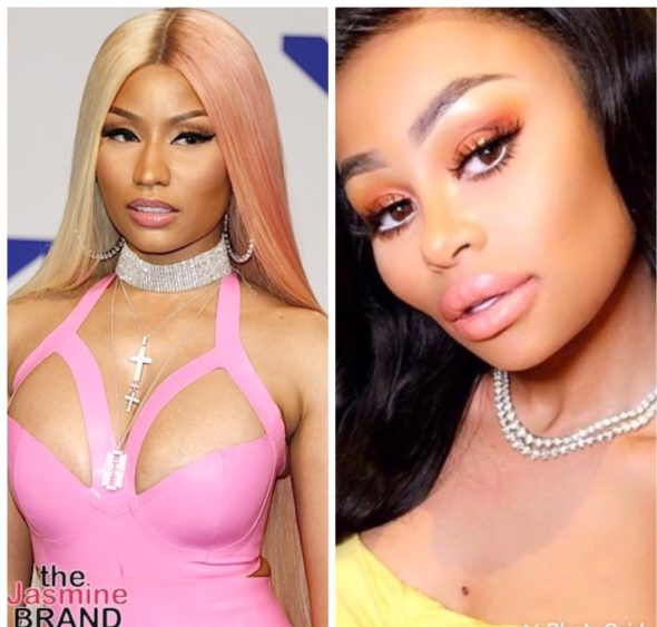 "UPDATE: Nicki Minaj Responds To Rumors Blac Chyna Featured In ""Megatron"" Video"