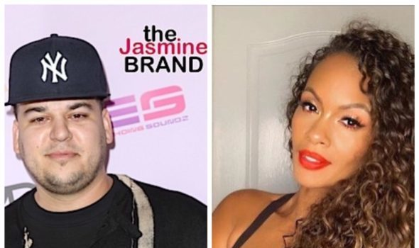 Rob Kardashian & Evelyn Lozada Send Sexually Suggestive Messages On Social Media