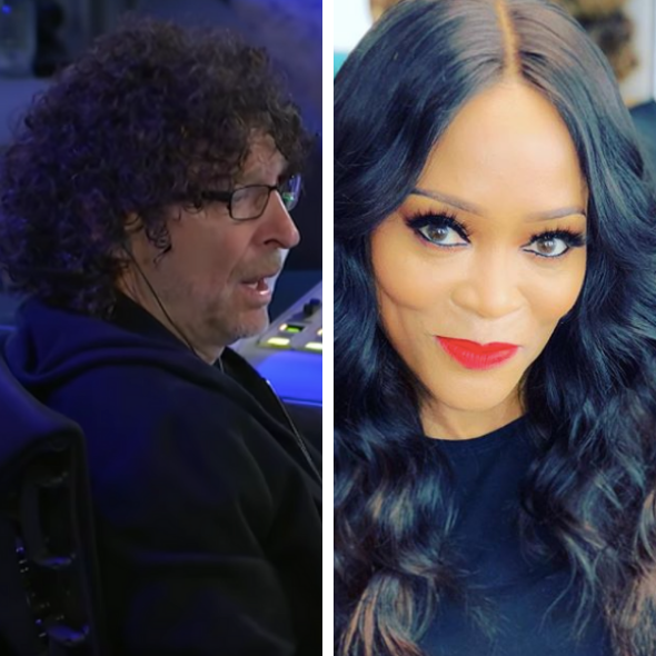 Robin Givens Brags On Ex Howard Stern, Calls Him A 'Magnificent Lover', Reacts To Rumors He Has A Small Package