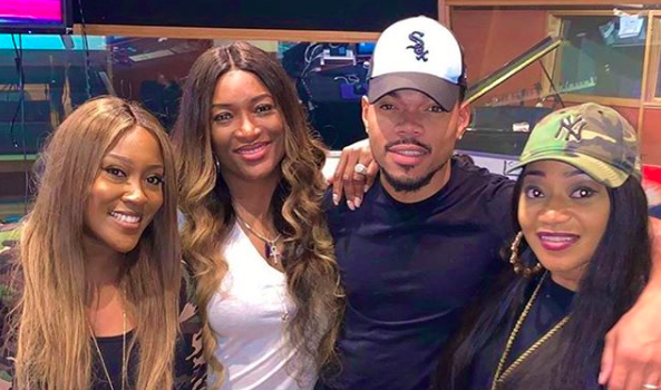 Chance The Rapper Hits The Studio W/ SWV & Kirk Franklin [Photo]