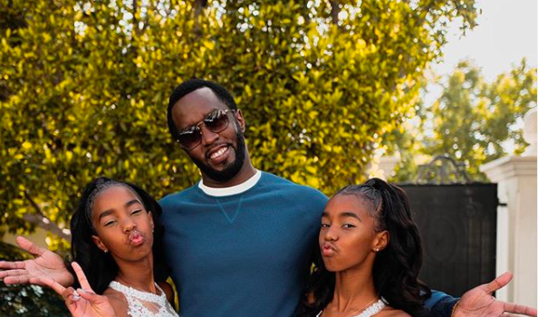 Diddy & Kim Porters Twin Girls Jessie And D'Lila Graduate! [VIDEO]
