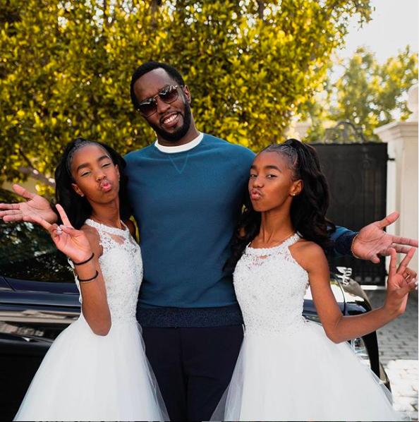 Diddy & Kim Porters Twin Girls Jessie And D'Lila Graduate! [VIDEO]