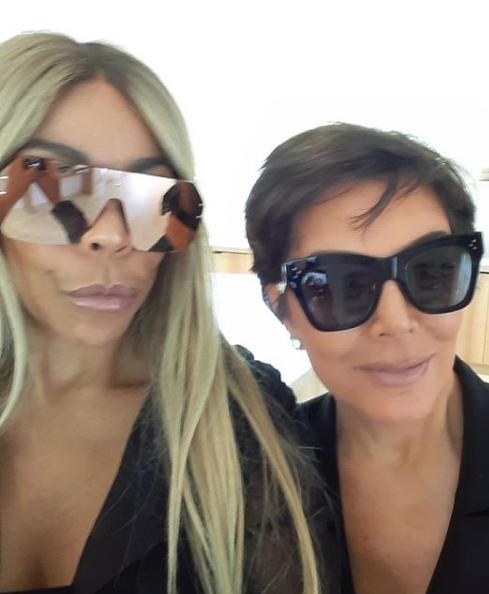 Wendy Williams Hangs Out With Kim Kardashian & Kris Jenner [VIDEO]