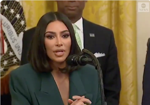 Kim Kardashian Returns To White House, Announces Partnership To Help Released Prisoners Get To Job Interviews