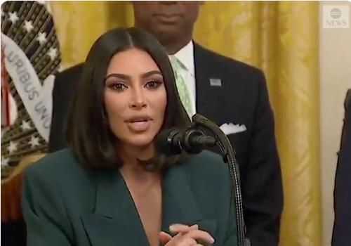 Kim Kardashian Returns To White House, Announces Partnership To Help Released Prisoners Get To Job Interviews