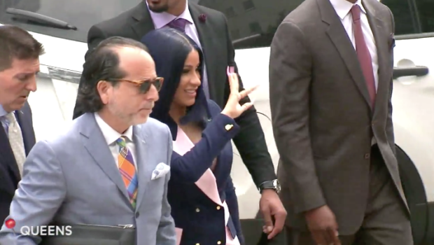 Cardi B Pleads Not Guilty To Felony Charges In Strip Club Fight
