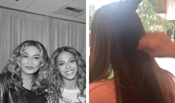 Tina Lawson Shows Off Beyonce's Inches!